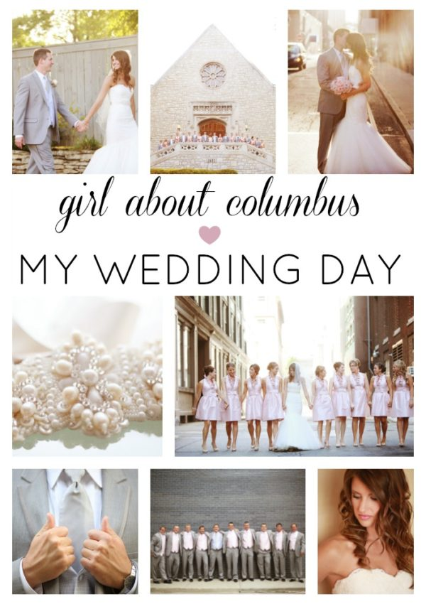 Our Wedding Day in Columbus