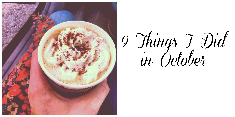 October | girl about columbus