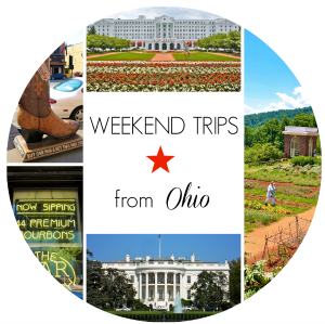 Weekend Trips from Ohio | girl about columbus