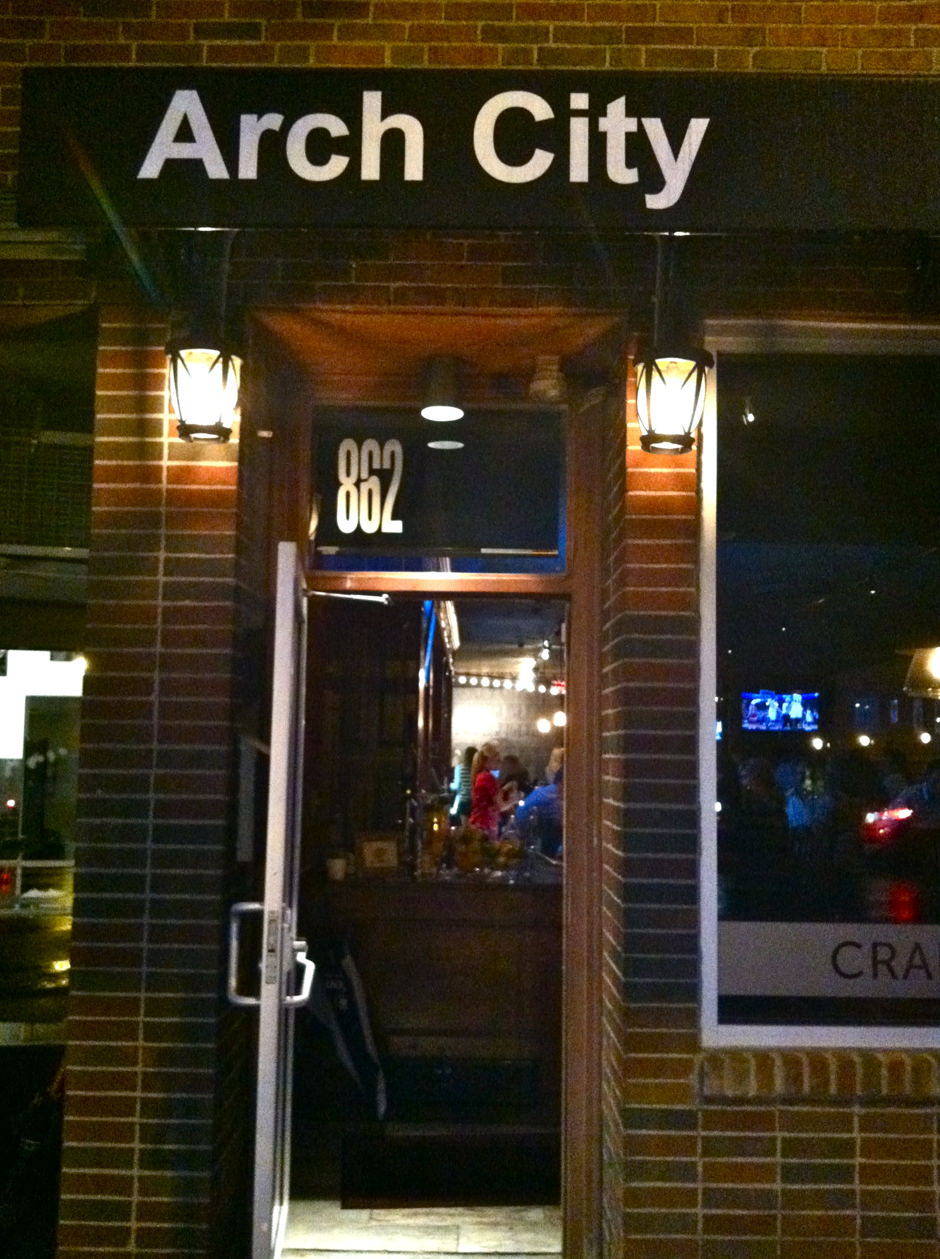 Arch City Tavern - girl about columbus