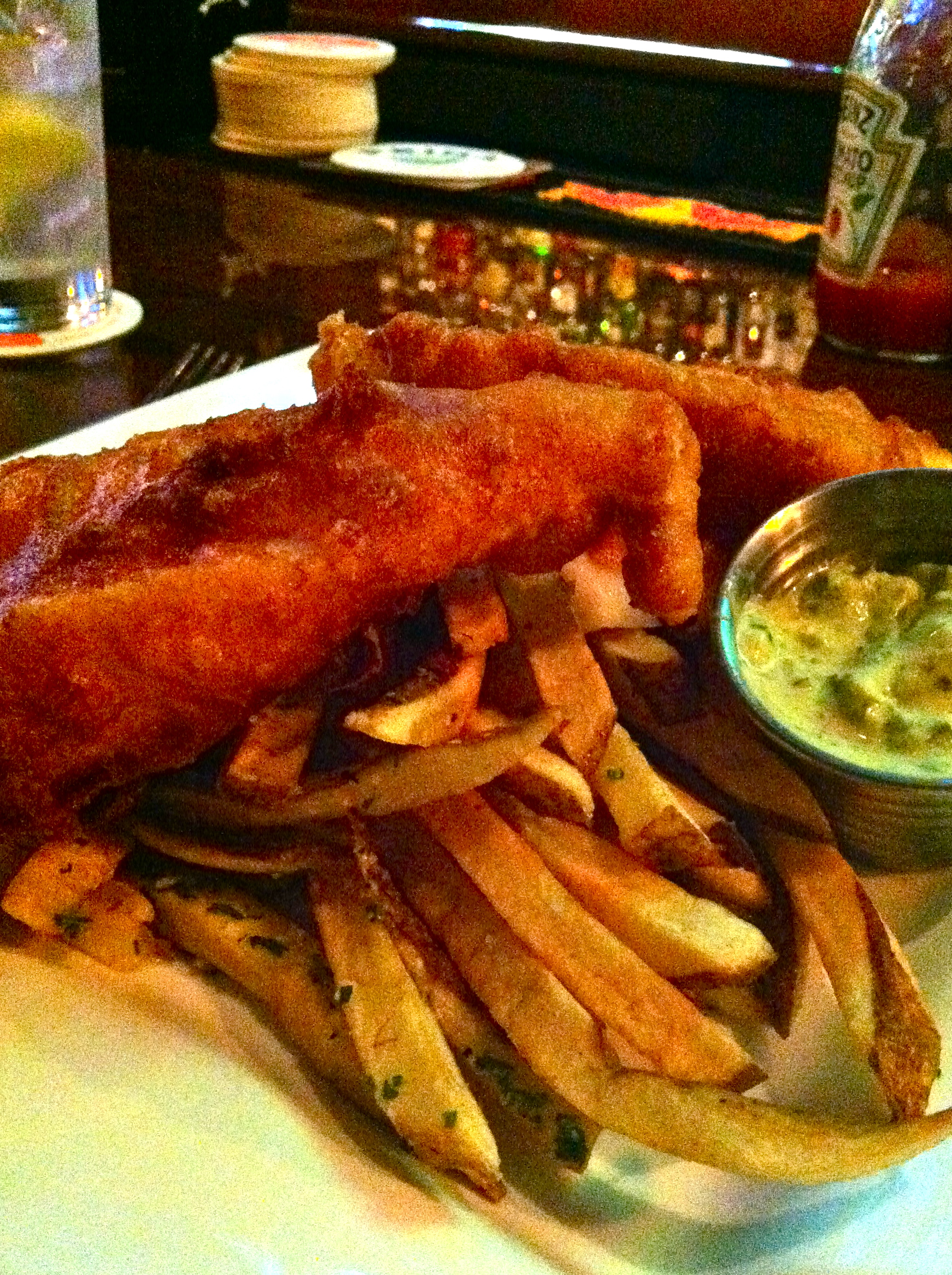Fish and chips columbus ohio all about fish for Columbus fish market menu