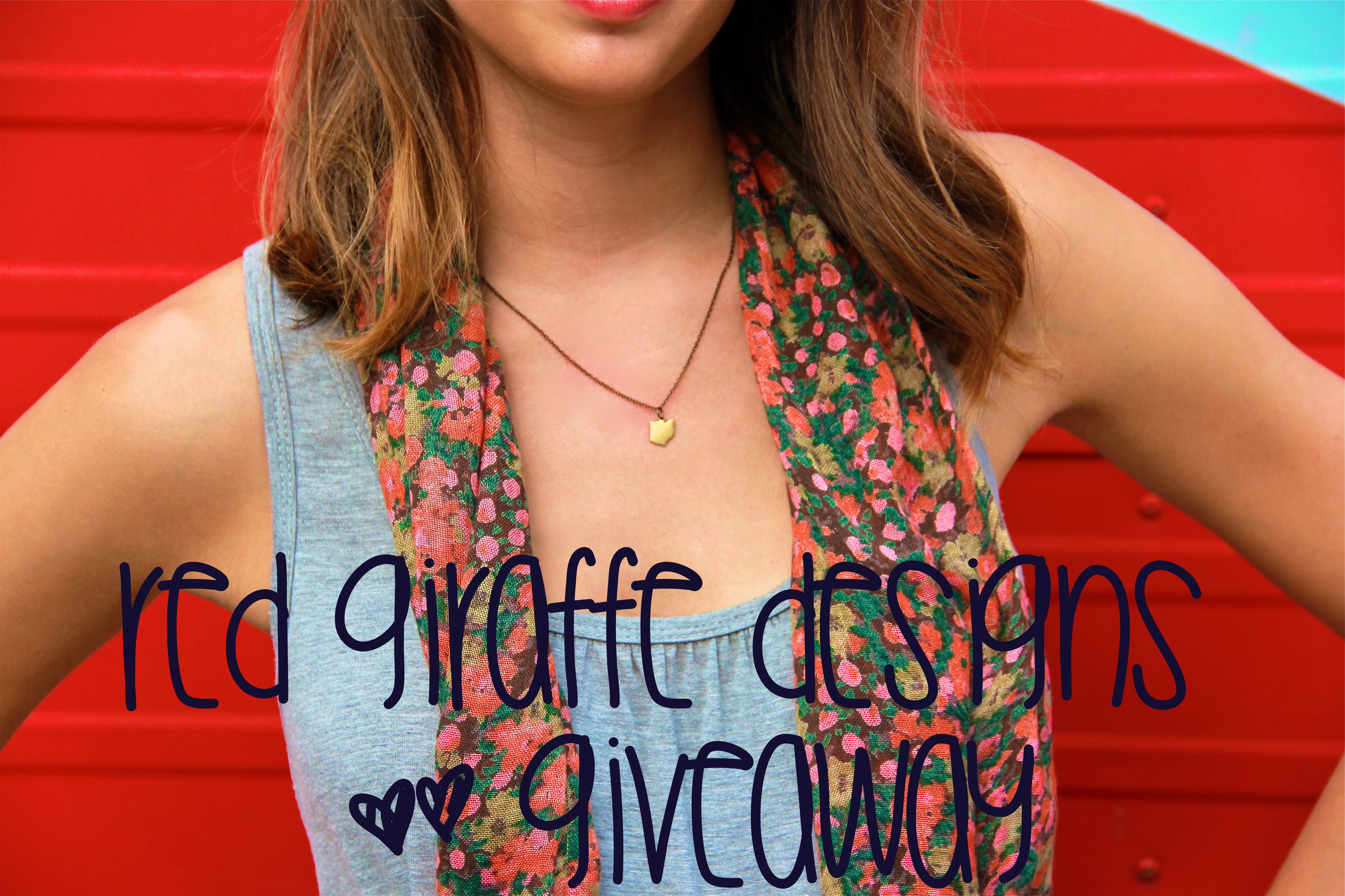 Red Giraffe Designs | girl about columbus