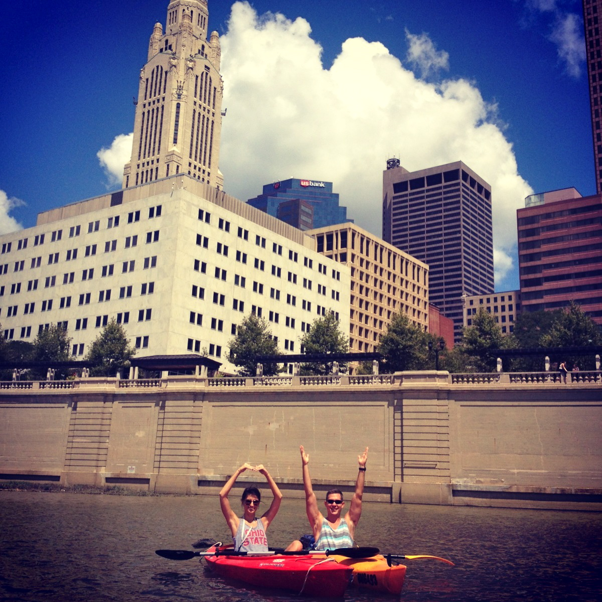Columbus Ohio Kayaking | Girl About Columbus