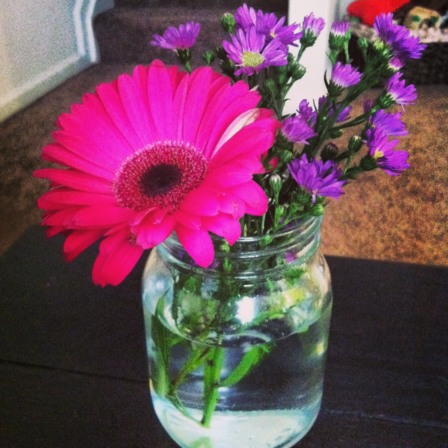 Mason Jar Flowers | Girl About Columbus