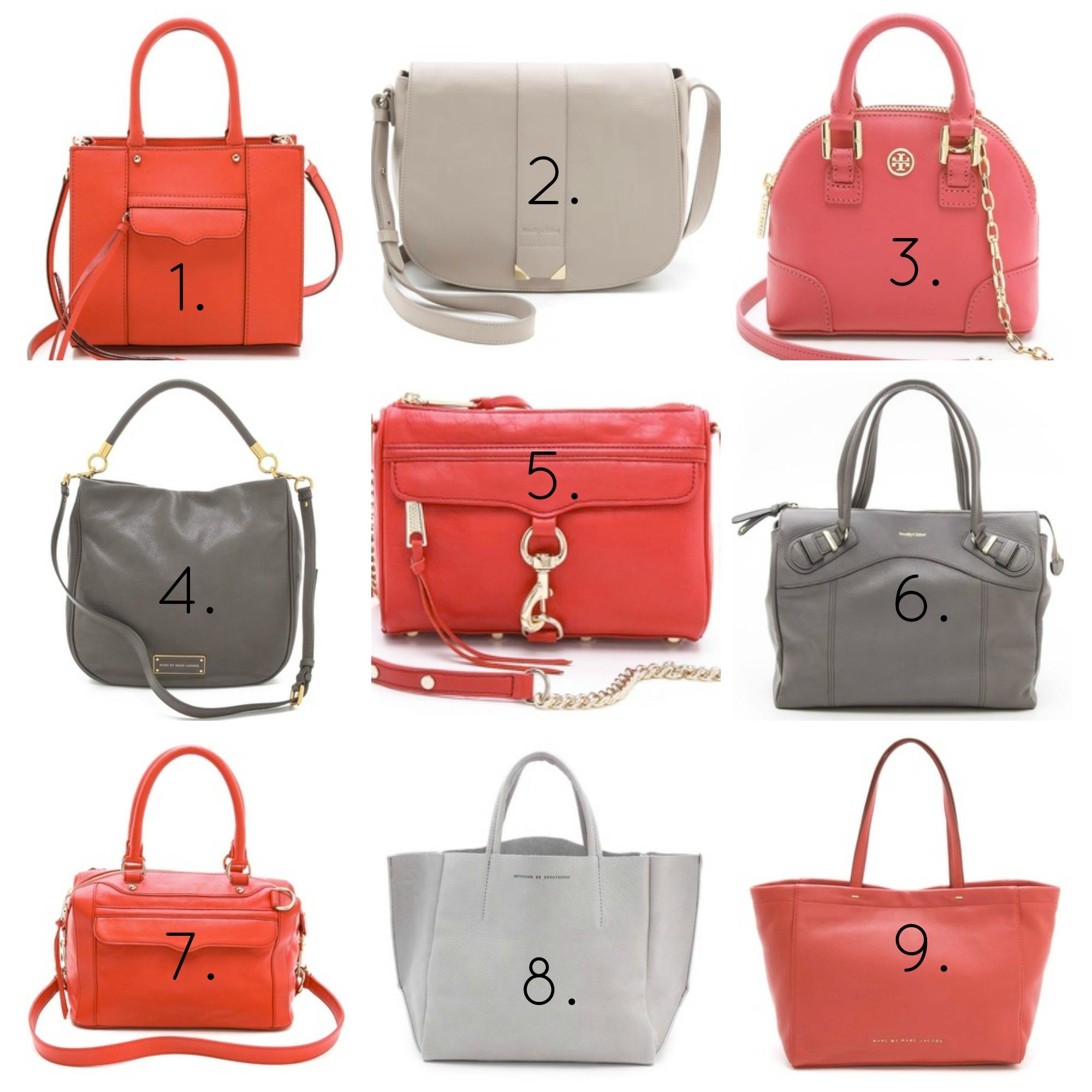 Scarlet & Gray Bags