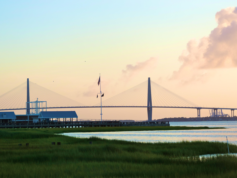 Sunrise at The Battery Charleston South Carolina