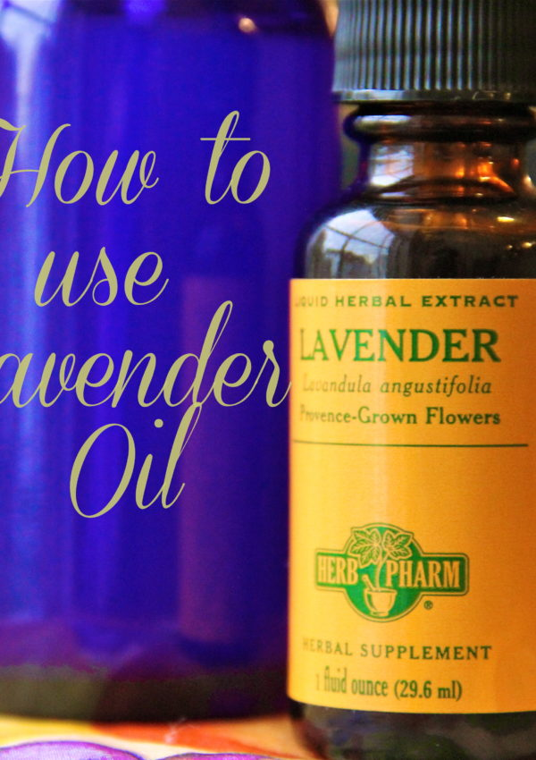 How to use Lavender Oil
