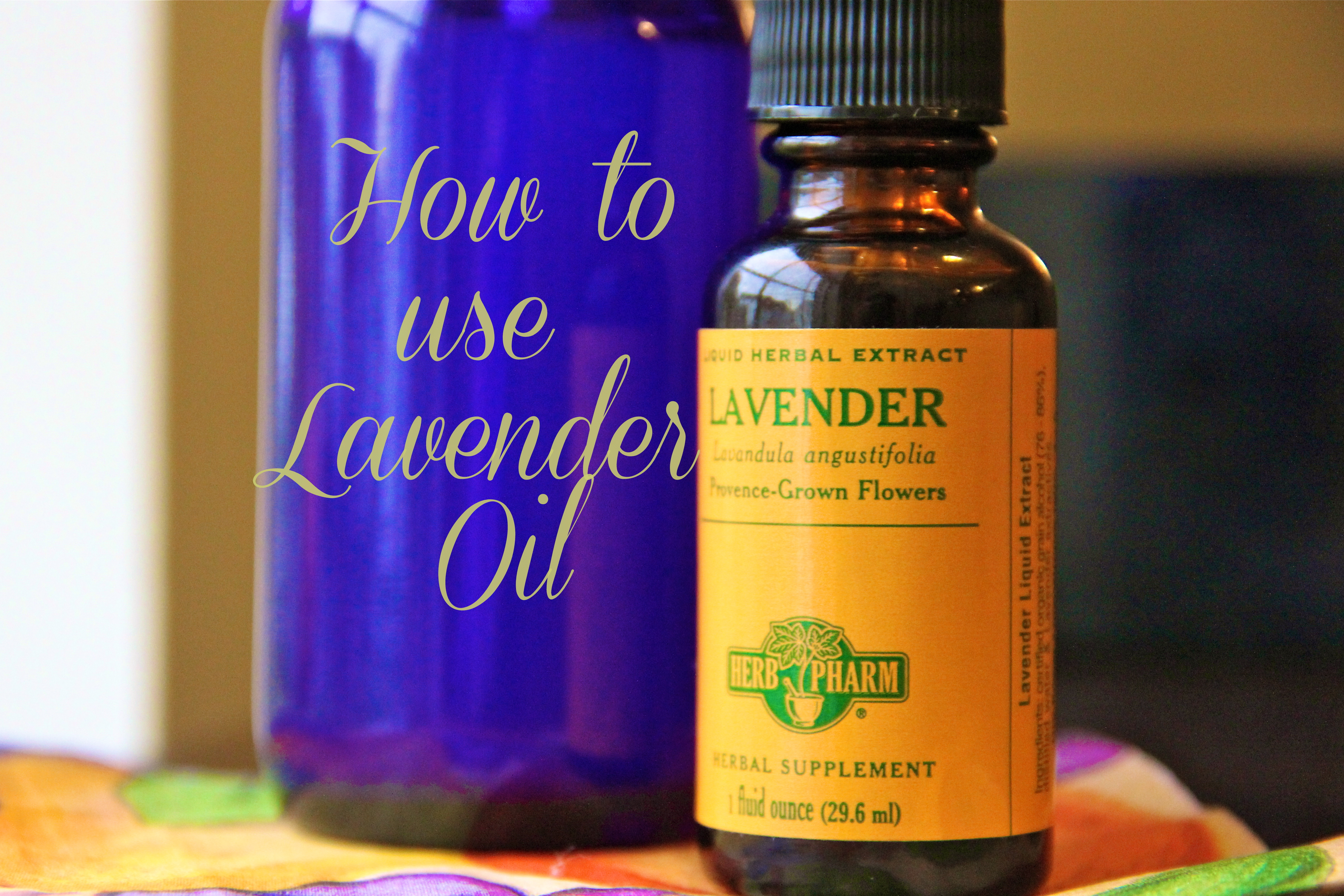 How to use Lavender Oil | girl about columbus