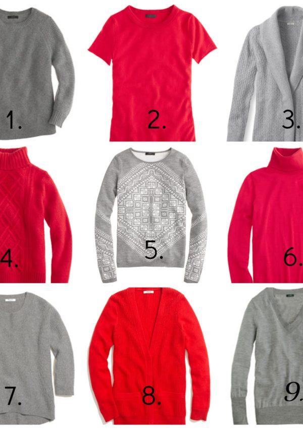 Scarlet & Gray… Sweaters