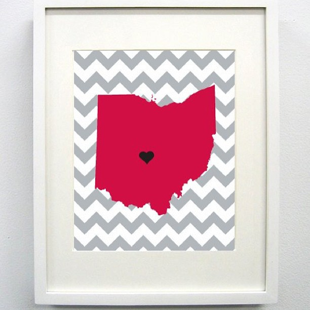 ohio_chevron_etsy_print