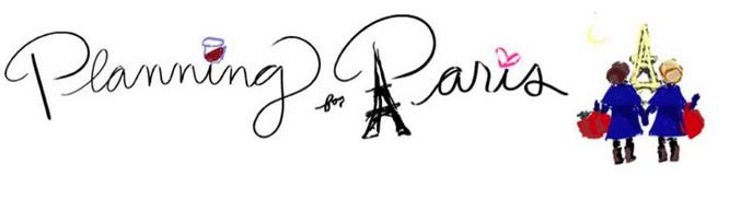 Planning for Paris Blog
