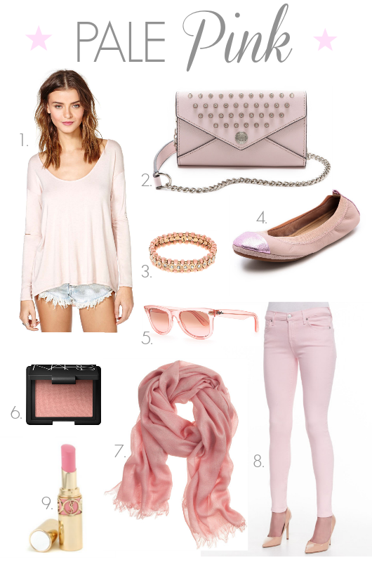 Loving Pale Pink | girl about columbus