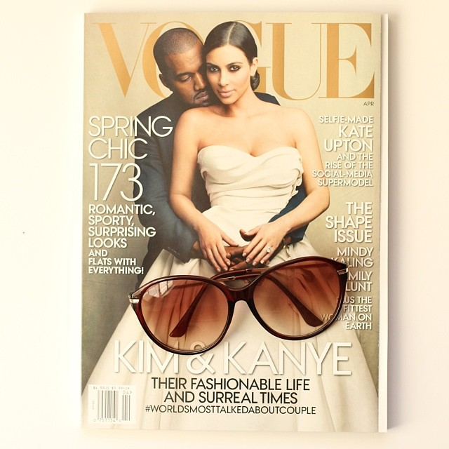 Vogue Magazine | Kimye | girl about columbus