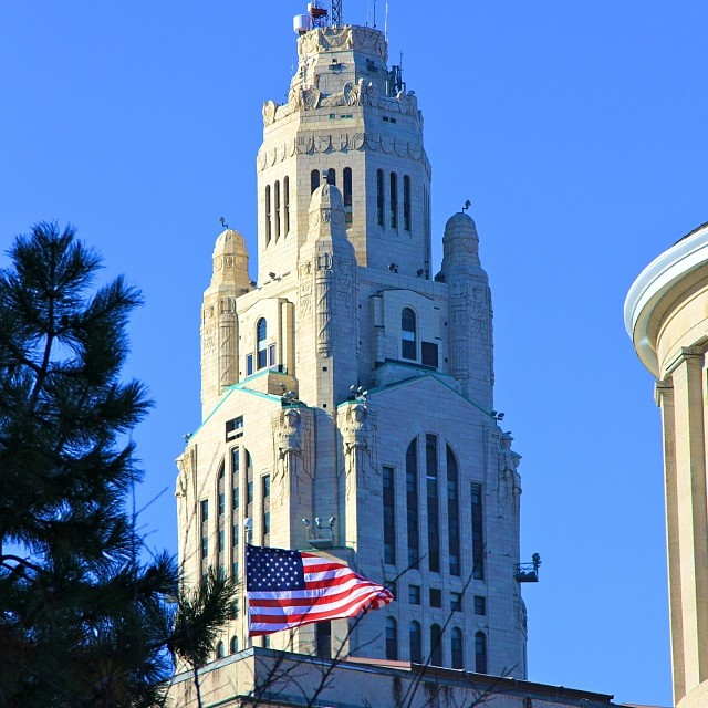 leveque tower| girl about columbus