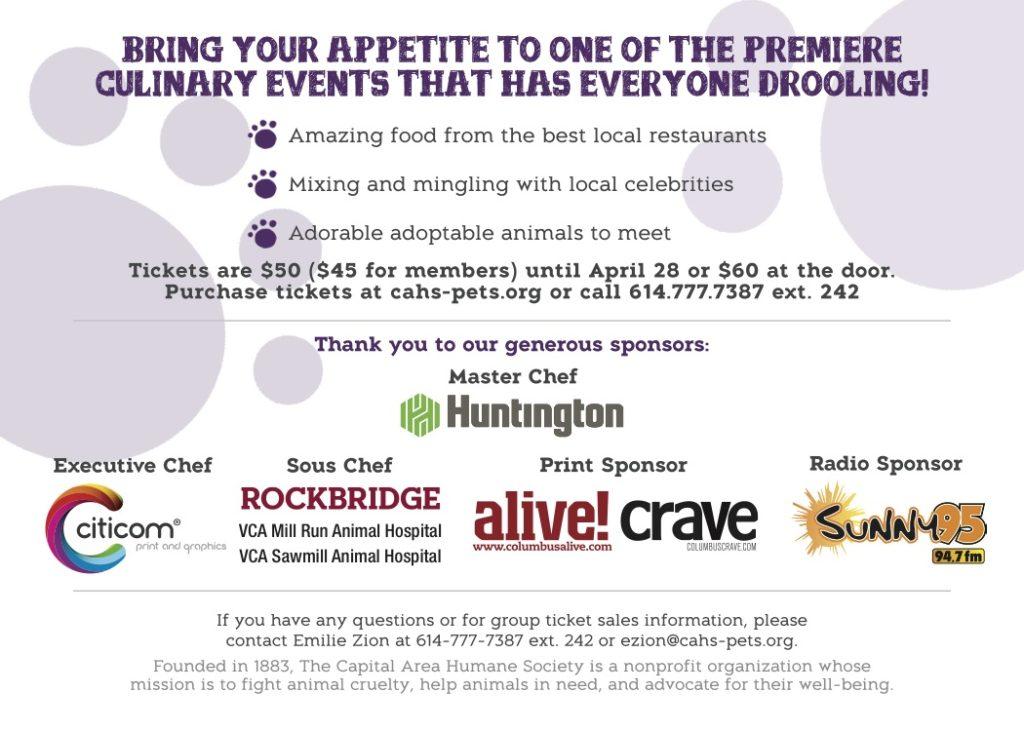 Celebrity Chef Invite