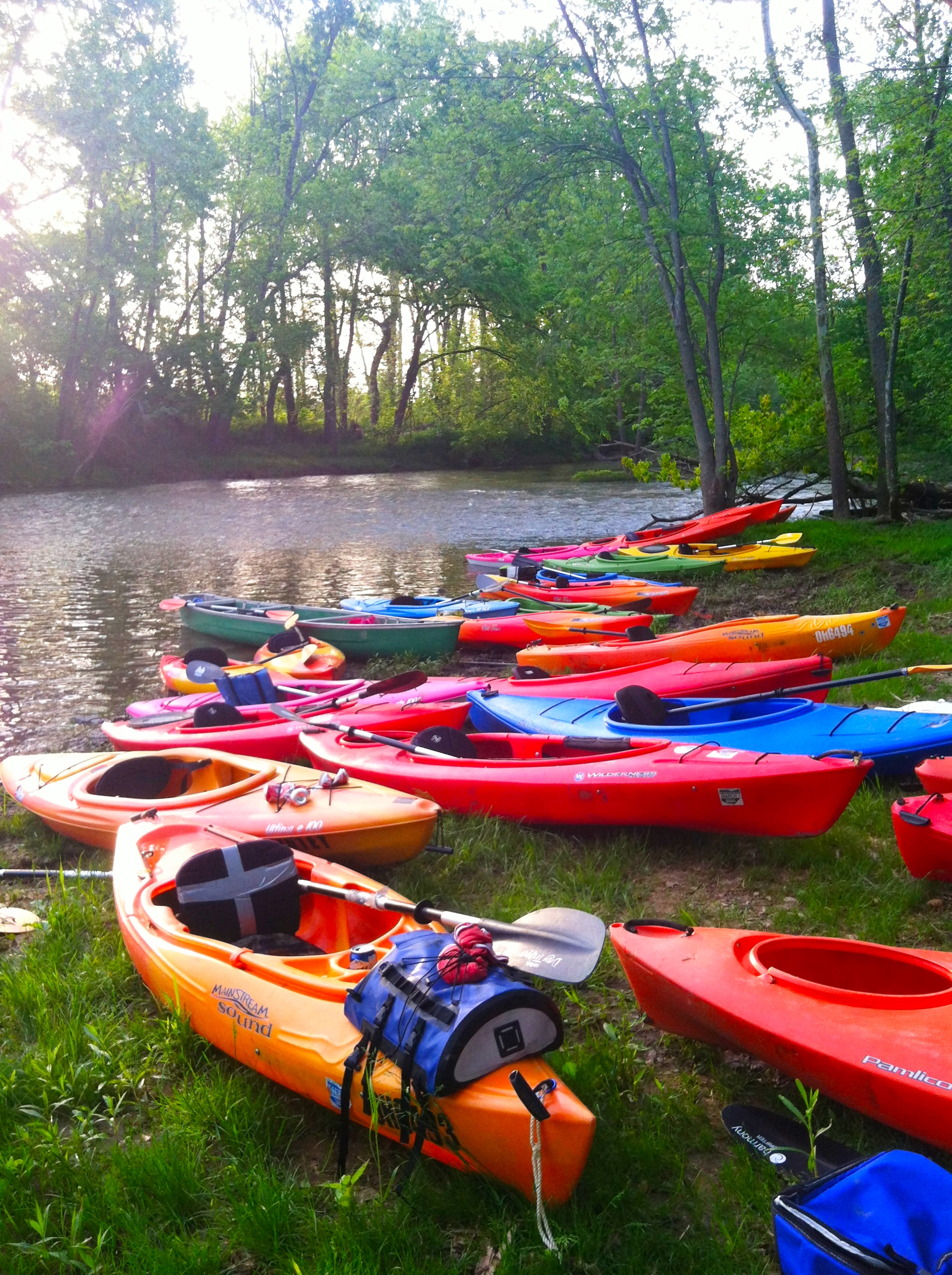 Deer Creek Kayaking | girl about columbus