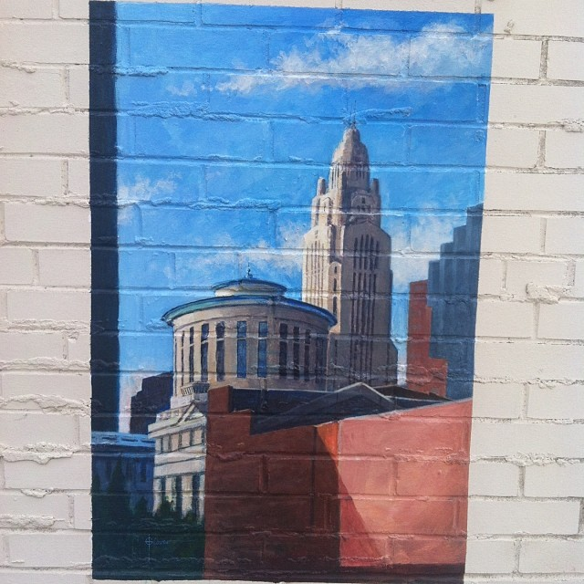 Downtown Columbus Mural