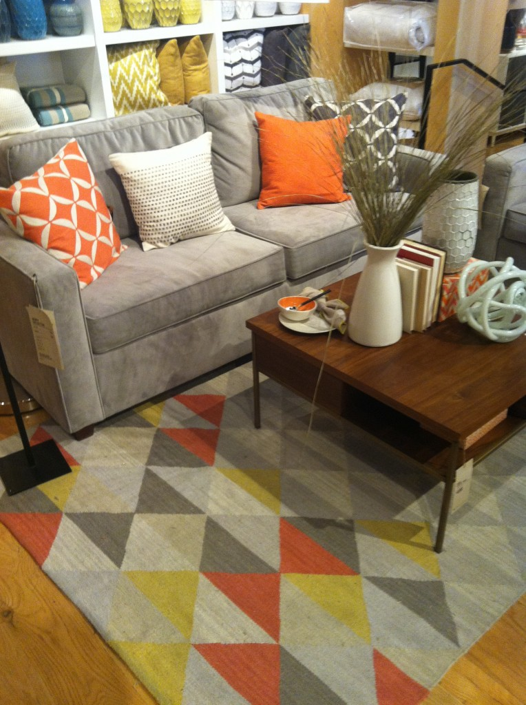 Love this living room from West Elm Columbus