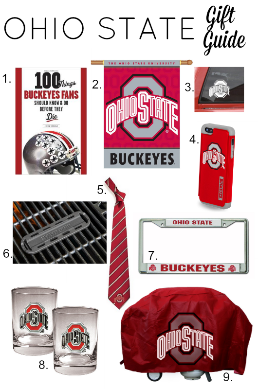 Ohio State Gift Guide... perfect for Father's Day!