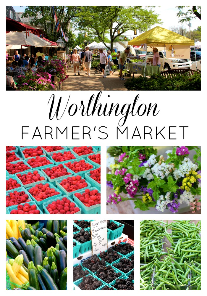 Worthington Farmer's Market // girl about columbus