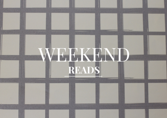 Weekend Reads | girl about columbus