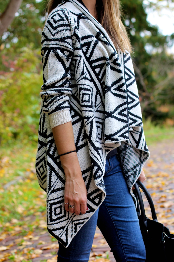 black-and-white-tribal-print-cardigan-forever-21