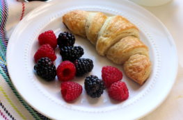 croissant-fruit-breakfast