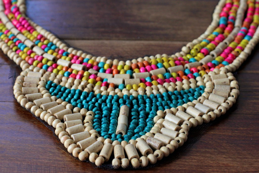 tribal-beaded-necklace
