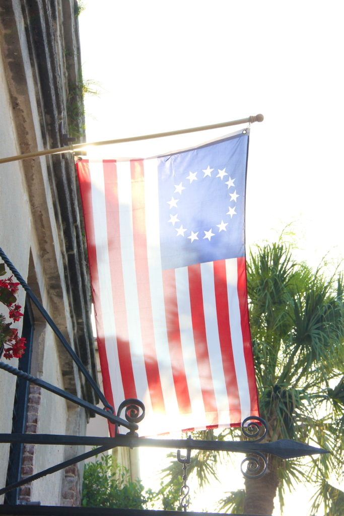 american-flag-charleston-south-carolina