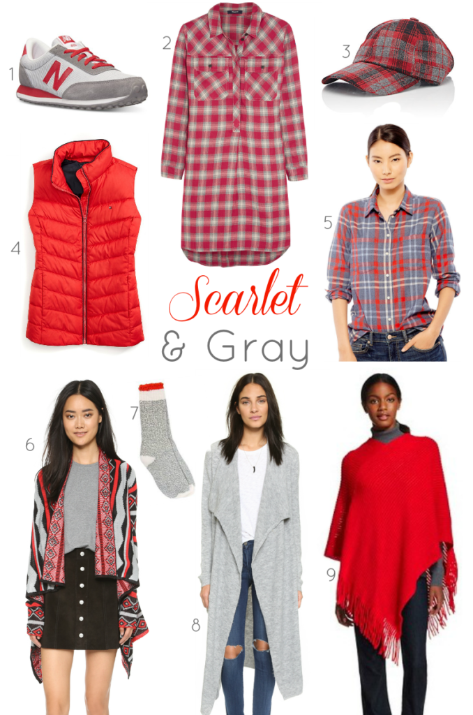 Scarlet + Gray Fall Fashion Finds | girl about columbus