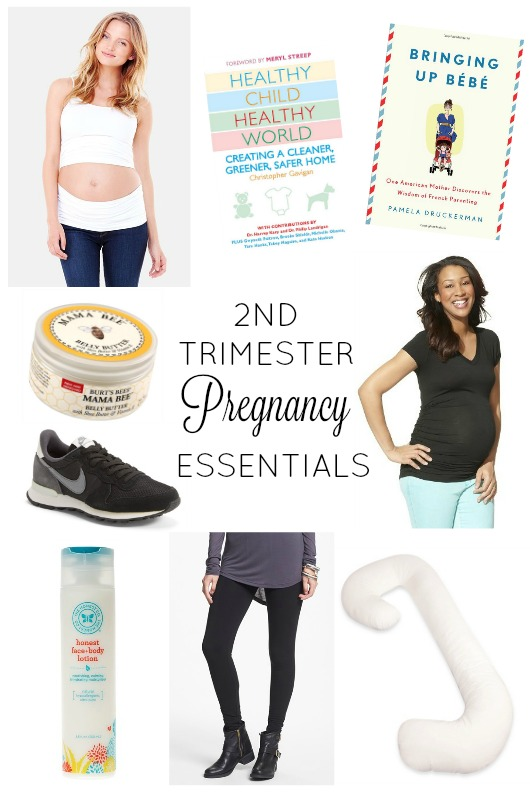 2nd Trimester Pregnancy Essentials | girl about columbus
