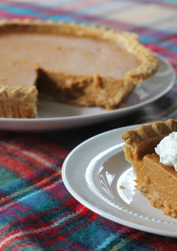 'Tis the Season for Pumpkin Pie