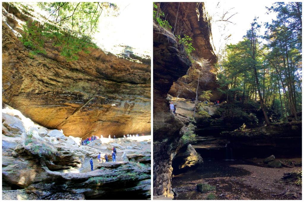 Old Man's Cave | Hocking Hills | girl about columbus