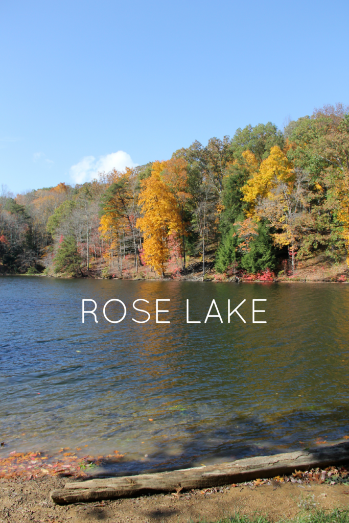 Rose Lake Hocking Hills | girl about columbus