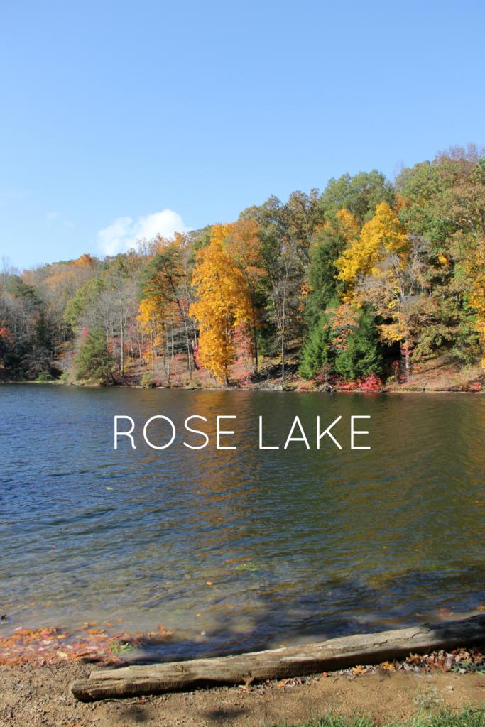 Rose Lake Hocking Hills | girl about columbus