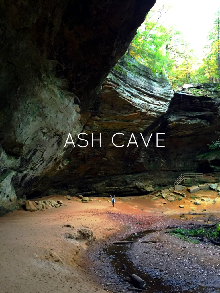 Ash Cave Hocking Hills | girl about columbus
