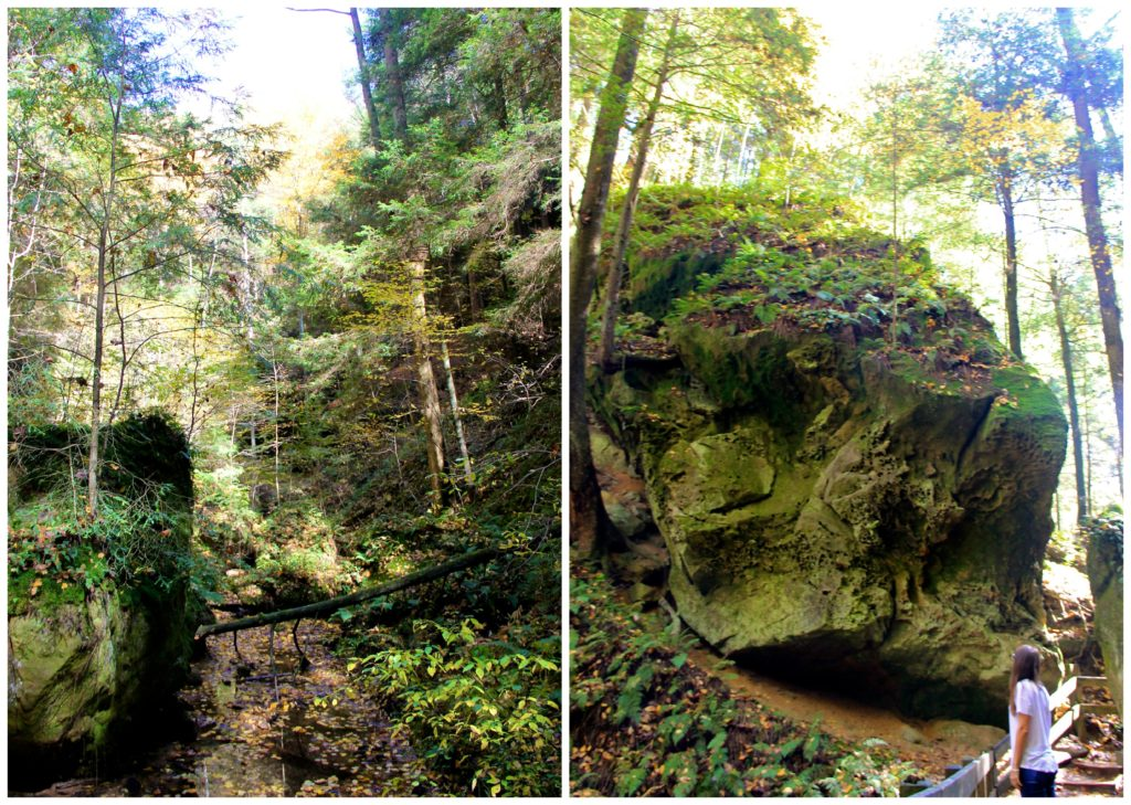 Conkle's Hollow | Hocking Hills | girl about columbus
