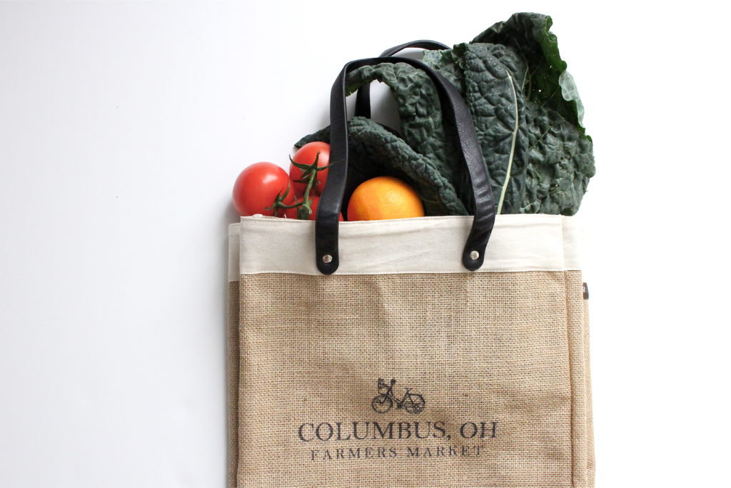 Columbus, Ohio Farmer's Market Bag | girl about columbus