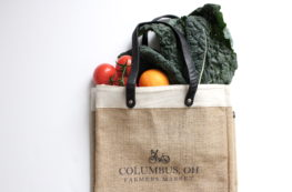 Columbus, Ohio Farmer's Market Bag | girl about columbus