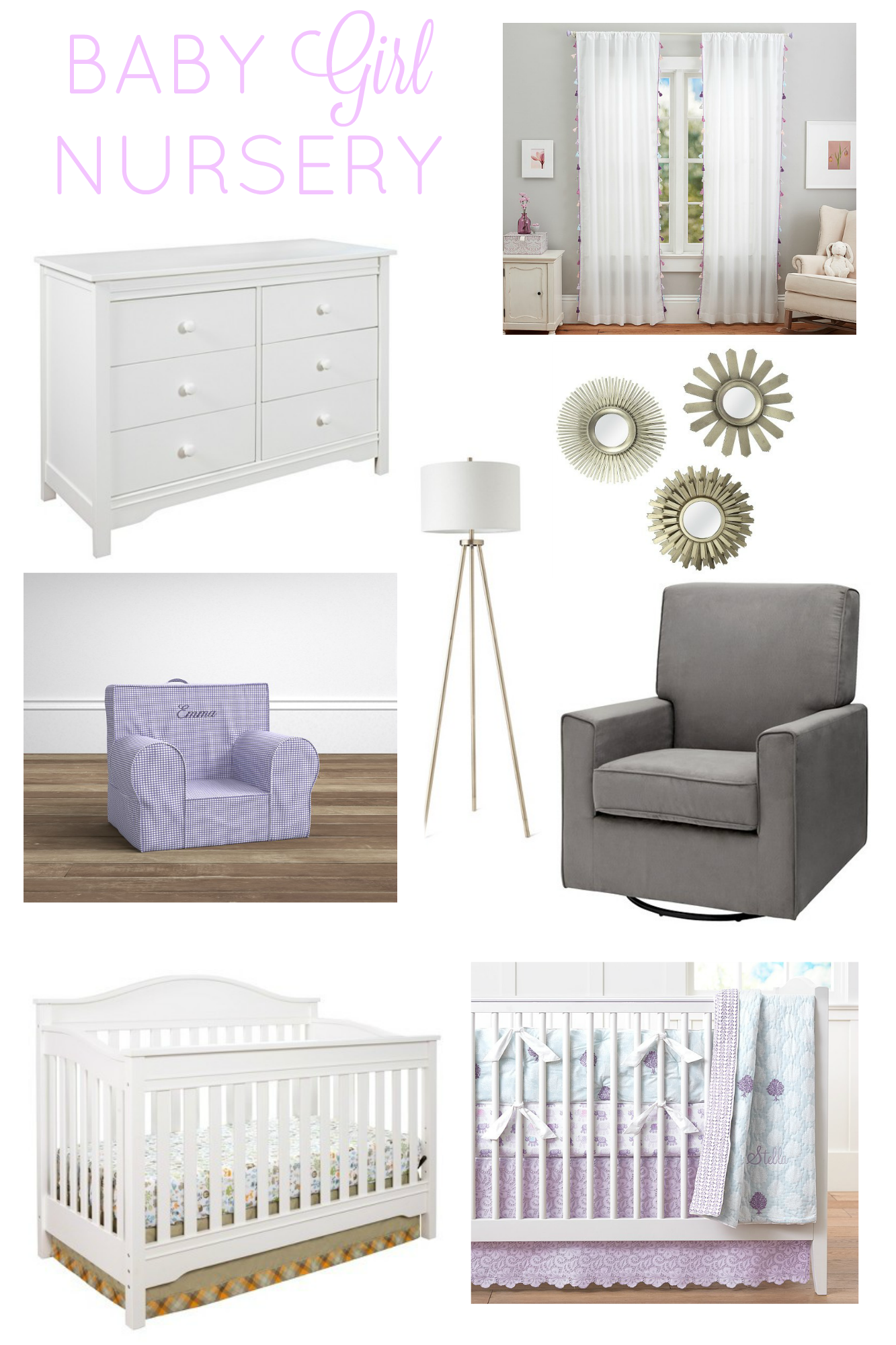 Baby Girl Nursery Inspiration | girl about columbus
