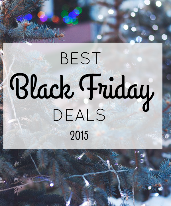 Best Black Friday Deals 2015