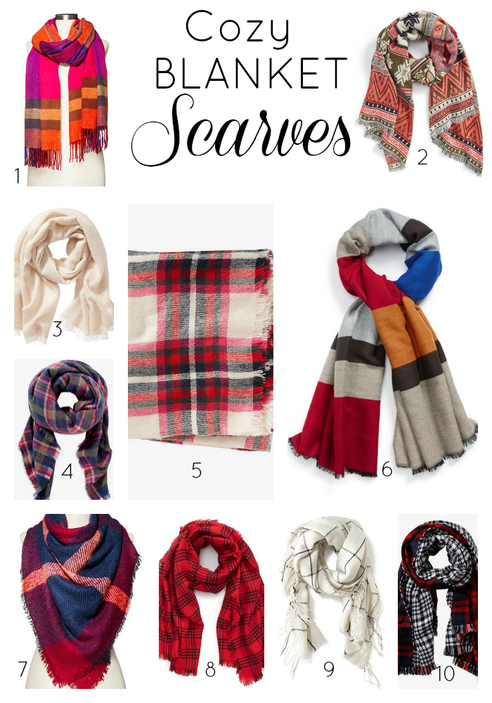 Holiday Gift Idea: Scarves Under $40!