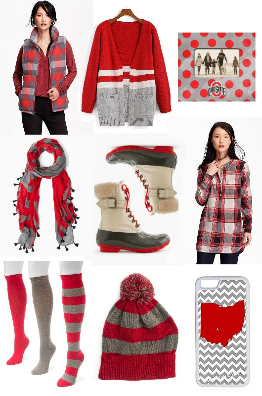 Scarlet & Gray | girl about columbus