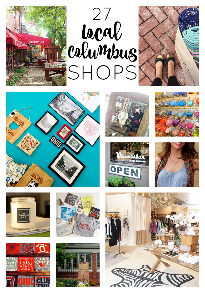 27 Local Columbus Shops for Your Holiday Shopping | girl about columbus
