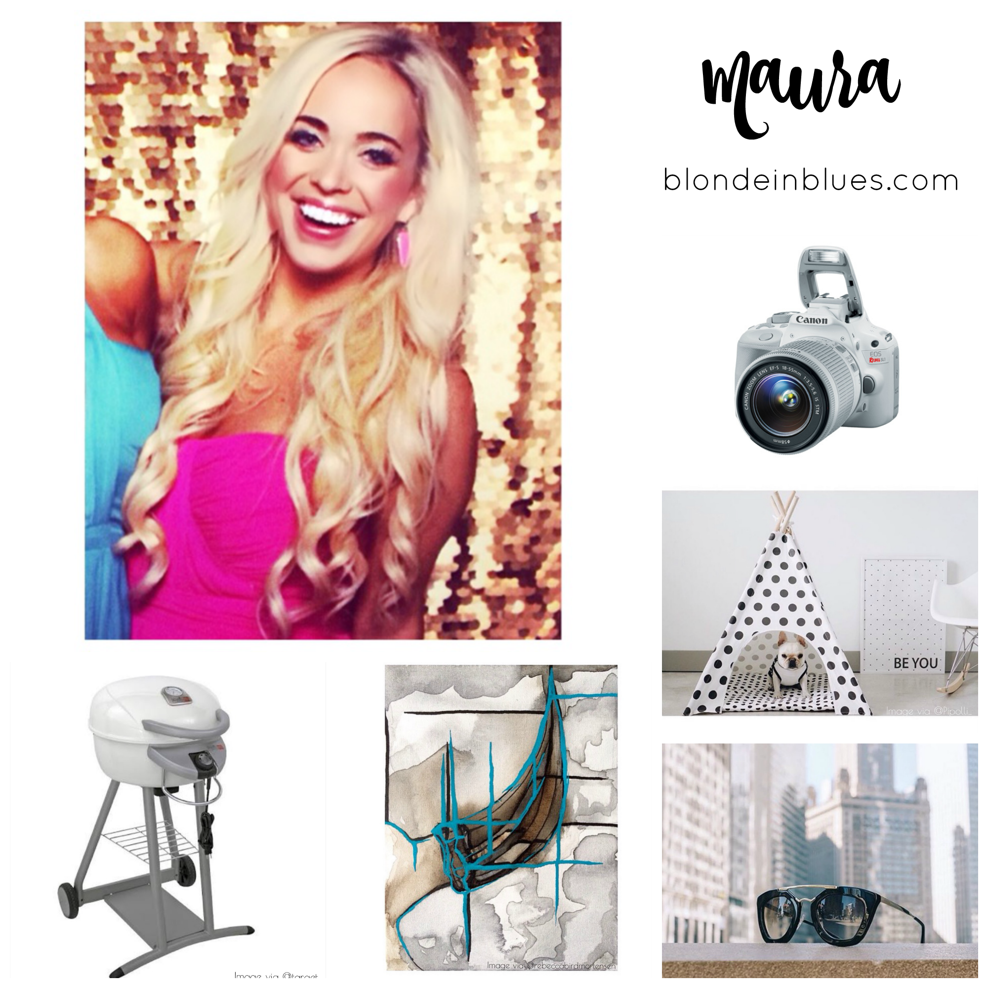 Blonde in Blues Holiday Wish List 2015