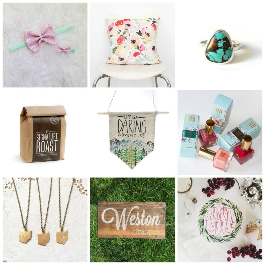The Cutest Locally Made Gifts / 2015 / girl about columbus