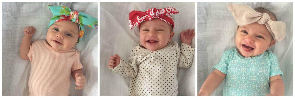 Bee Mine Sunshine Baby Headbands // girl about columbus