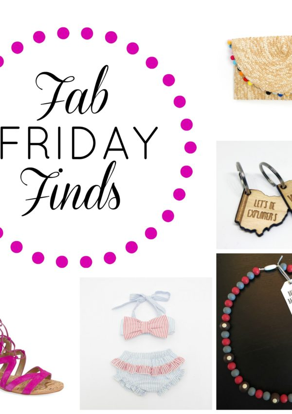 5 Fab Friday Finds