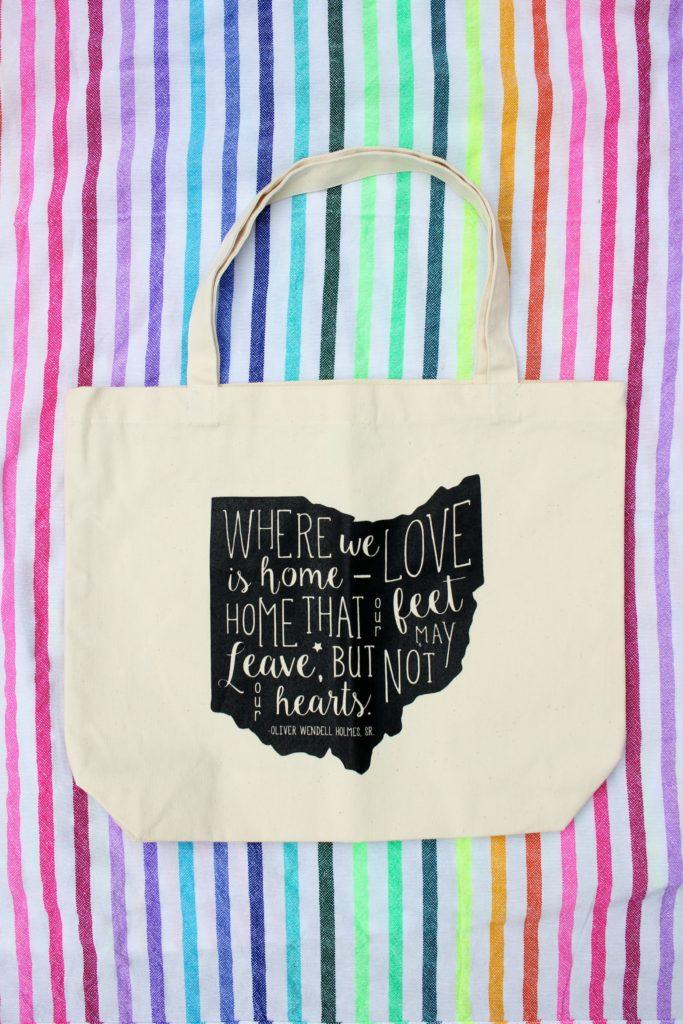 Invoke Thy Quote Ohio Bag <3