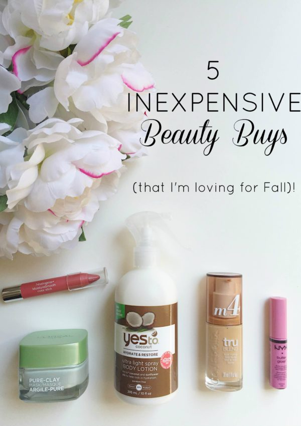 5 Inexpensive Beauty Buys // girl about columbus